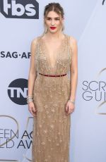 SOFIA HUBLITZ at Screen Actors Guild Awards 2019 in Los Angeles 01/27/2019