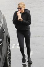 SOFIA RICHIE at a Gym in West Hollywood 02/04/2019