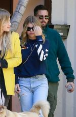 SOFIA RICHIE Out in Beverly Hills 02/22/2019