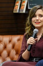 SOPHIA BUSH at Az and the Lost City of Ophir Book Discussion in Los Angeles 02/13/2019