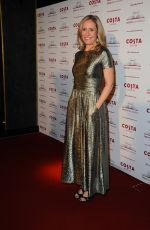 SOPHIE RAWORTH at Costa Book Awards in London 01/29/2019