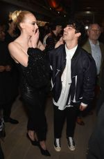 SOPHIE TURNER and JOE JONAS at Republic Records Grammys After-party in Los Angeles 02/10/2019