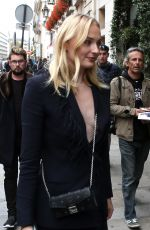 SOPHIE TURNER Out and About in Paris 02/10/2019