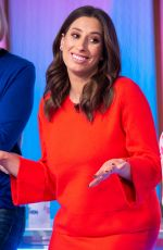 STACEY SOLOMON at Loose Women Show in London 02/15/2019