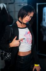 STELLA AMXWELL at Jremy Scott Runway Show at NYFW in New York 02/08/2019