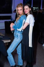 STELLA MAXWELL and PHOEBE TONKIN at P.S. x Danielle Priano Launch in New York 02/11/2019