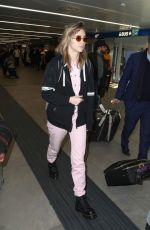 SUKI WATERHOUSE Arrives in Milan 02/22/2019