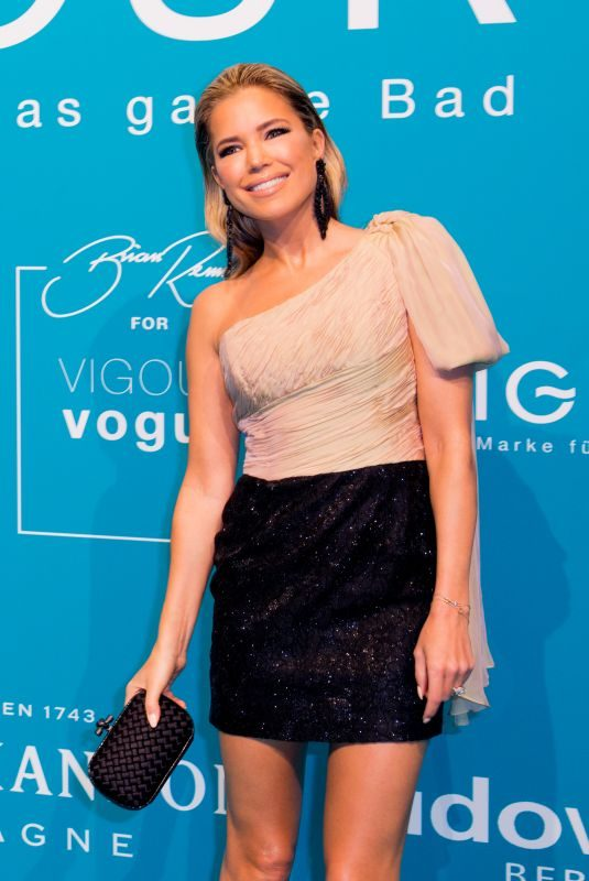 SYLVIE MEIS at Vigour Vogue Launch and Fashion Show 02/19/2019