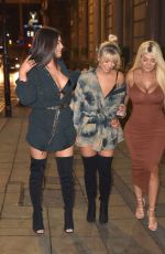 TAHLIA CHUNG, BETHAN KERSHAW and CHLOE FERRY at Bijoux in Newcastle 01/29/2019