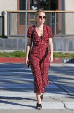 TANYA BURR Out and About in os Angeles 02/07/2019
