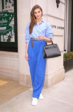 TAYLOR HILL Leaves Ralph Lauren Fashion Show in New York 02/07/2019