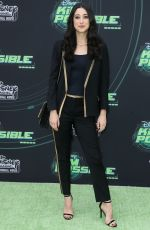 TAYLOR ORTEGA at Kim Possible Premiere in Los Angeles 02/12/2019
