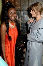 TAYLOR SWIFT and DEBORAH ABABIO at British Vogue Fashion and Film Bafta Party 02/10/2019