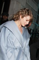 TAYLOR SWIFT and Joe Alwyn Leaves Vogue Bafta Party in London 02/10/2019