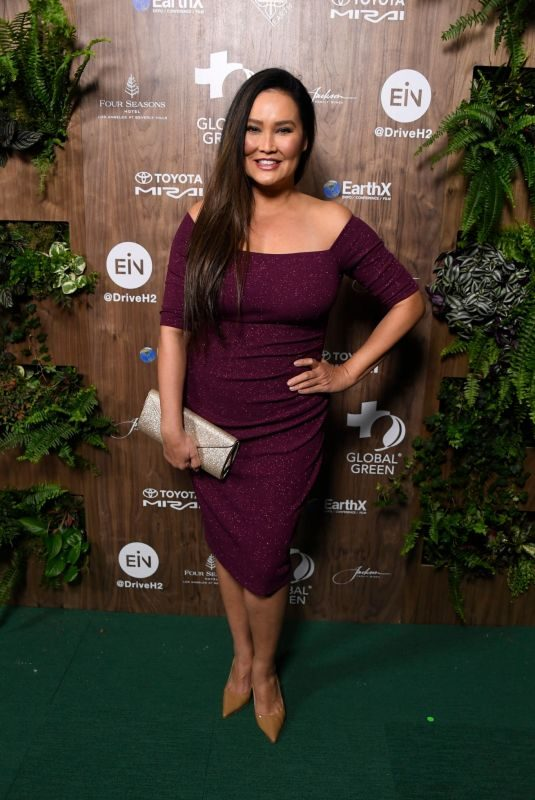 TIA CARRERE at Global Green 2019 Pre-oscar Gala in Los Angeles 02/20/2019