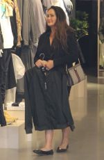 TIA CARRERE Shopping at Nike Store n Beverly Hills 02/12/2019