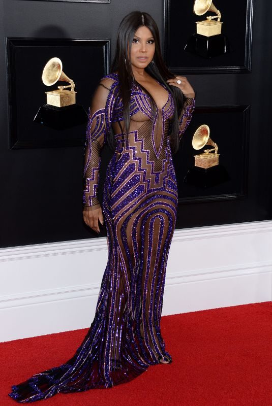 TONI BRAXTON at 61st Annual Grammy Awards in Los Angeles 02/10/2019