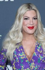 TORI SPELLING at 2019 TCA Winter Tour in Los Angeles 02/06/2019