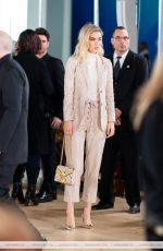 VANESSA KIRBY at Tory Burch Fashion Show in New York 02/12/2019