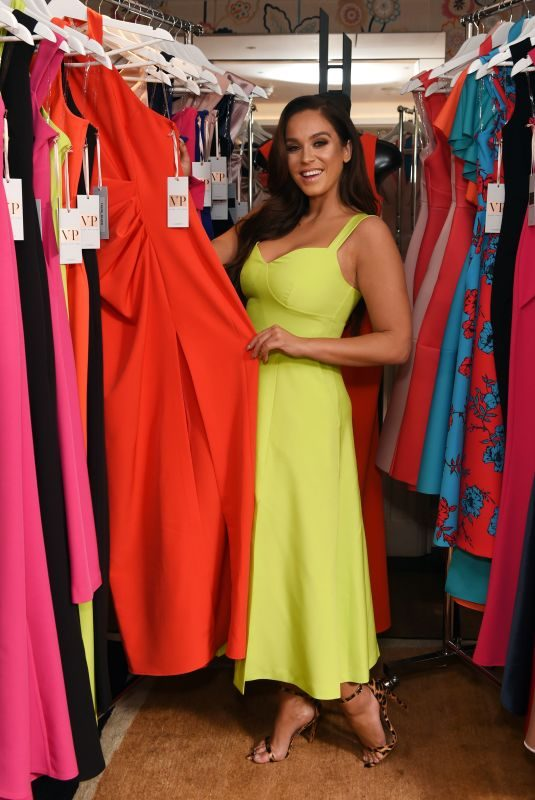 VICKY PATTISON at Charlotte Street Hotel for Goddiva Clothing Launch in London 02/04/2019
