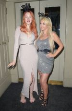 VICTORIA CLAY and JODIE WESTON at Mortons Mayfair in London 01/29/2019