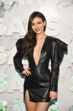 VICTORIA JUSTICE and MADISON REED at Saks Celebration in New York 02/07/2019