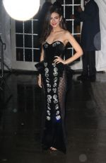 VICTORIA JUSTICE Arrives at Amfar New York Gala 2019 02/06/2019