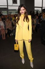 Victoria Justice - Pamella Roland fashion show in NYC 2/7/19