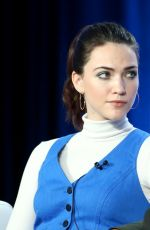 VIOLETT BEANE at God Friended Me Panel at 2019 Winter TCA Tour in Pasadena 01/30/2019