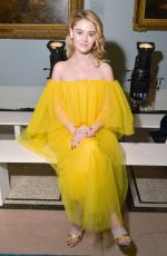 VIRGINIA GARDNER at Carolina Herrera Fashion Show in New York 02/11/2019