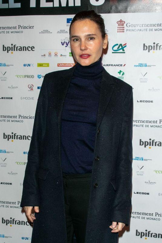VIRGINIE LEDOYEN at Le Temps Presse Festival in Paris 02/01/2019
