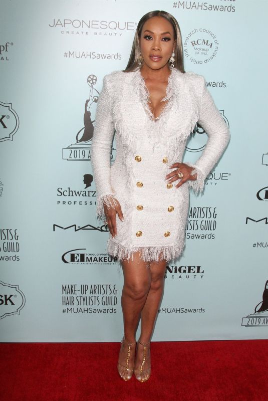 VIVICA FOX at Make-up Artists & Hair Stylists Guild Awards in Los Angeles 02/16/2019