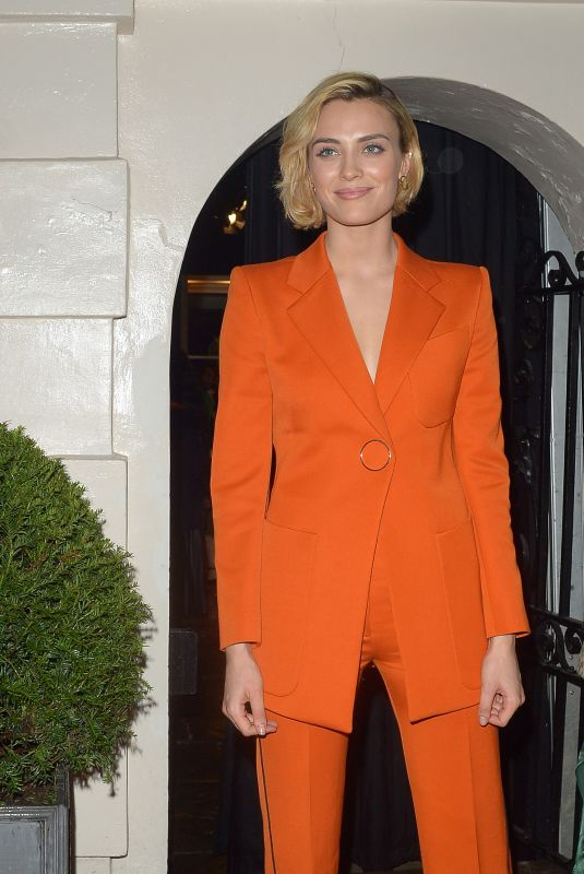 WALLIS DAY at Dunhill Pre-bafta Dinner in London 02/06/2019
