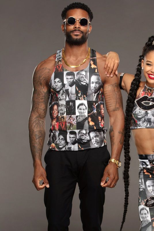 WWE - Bianca Belair and Montez Ford
