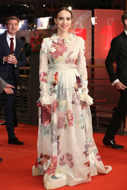 ZOE KAZAN at The Kindness of Strangers Premeire at Berlinale 2019 02/07/2019