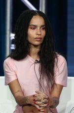 ZOE KRAVITZ at 2019 Winter TCA Tour in Pasadena 02/08/2019