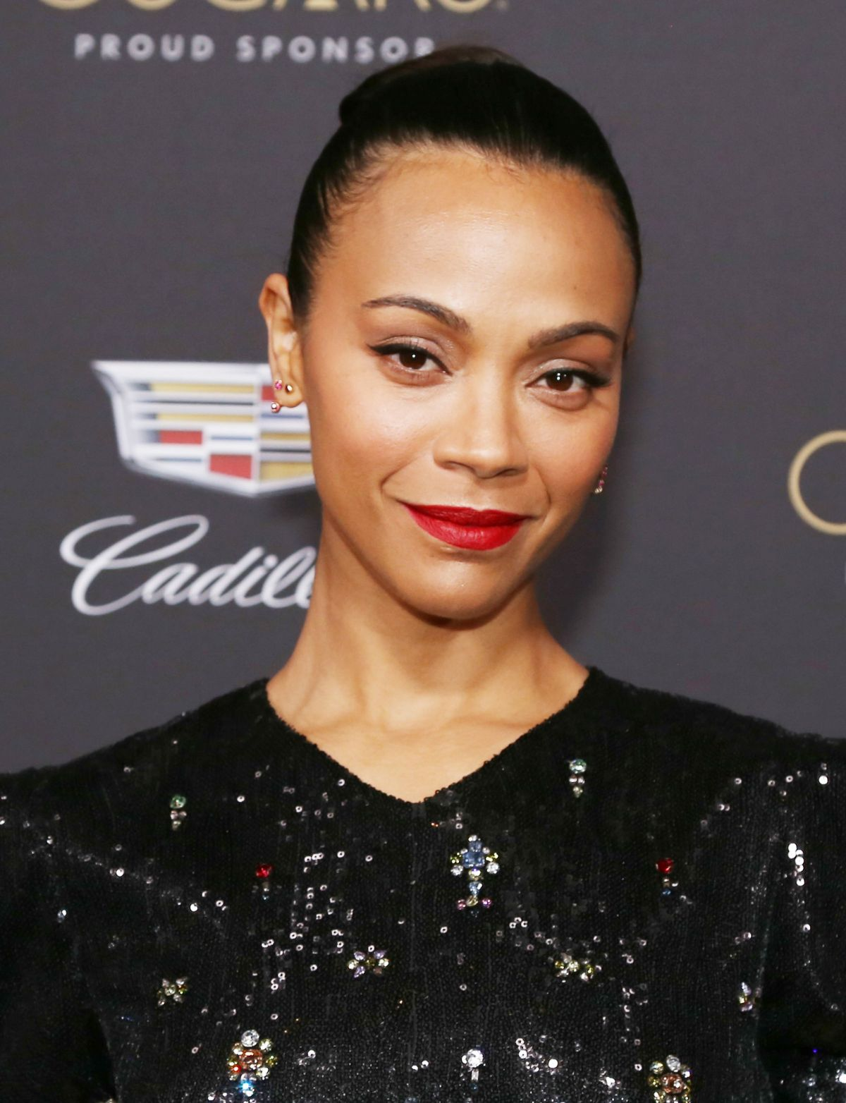 ZOE SALDANA at Cadillac Celebrates 91st Oscars in Los ...