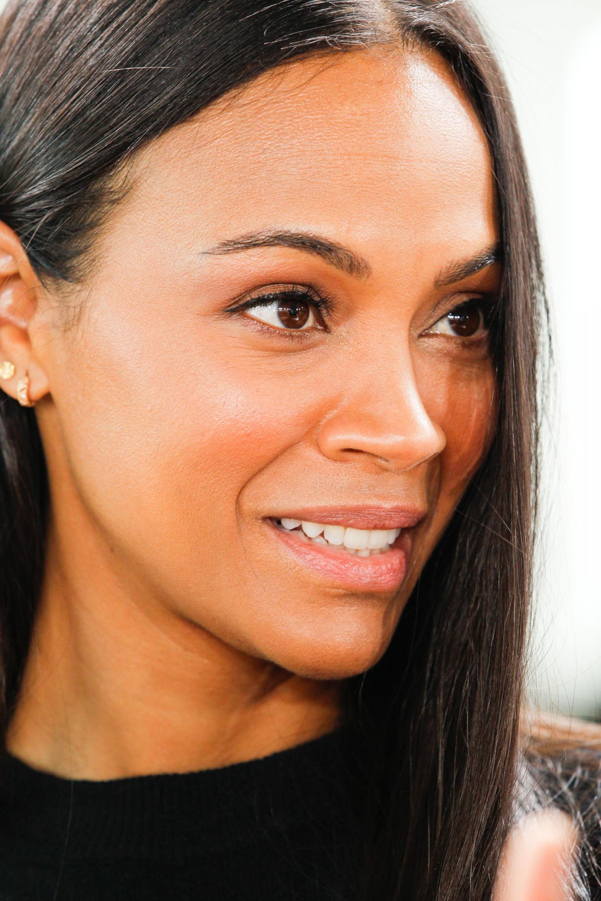 ZOE SALDANA at Science...