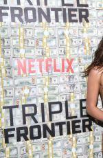 ADRIA ARJONA at Triple Frontier Premiere in New York 03/03/2019