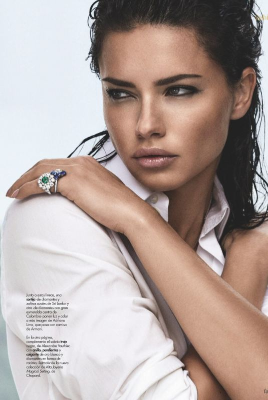 ADRIANA LIMA in Hola! Fashion Magazine, March 2019