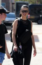 ADRIANA LIMA Leaves a Gym in Miami 03/01/2019