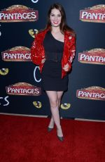 AINSLEY ROSS at Cats Opening Night Performance in Hollywood 02/27/2019