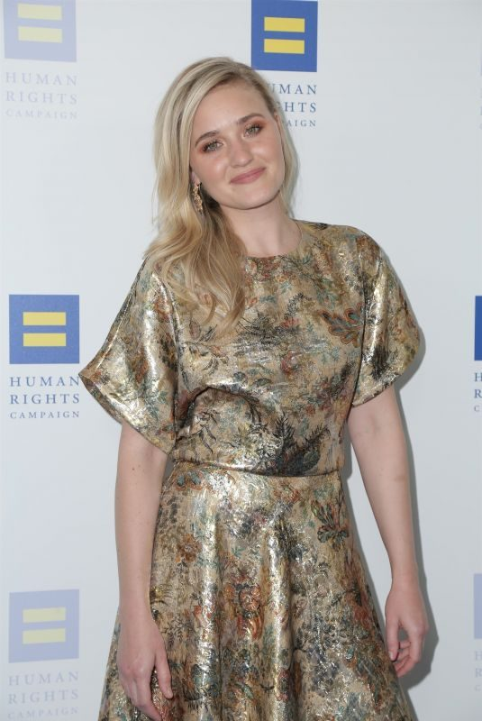 AJ MICHALKA at Human Rights Campaign 2019 Gala Dinner in Los Angeles 03/30/2019