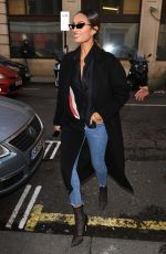 ALESHA DIXON Out and About in London 03/08/2019