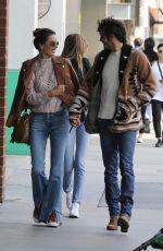 ALESSANDRA AMBROSIO Heading to Hillstone Restaurant in Santa Monica 03/09/2019