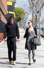 ALESSANDRA AMBROSIO Heading to Pilates Class in Los Angeles 03/09/2019