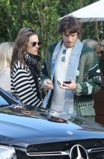 ALESSANDRA AMBROSIO Leaves Soho House in Malibu 03/10/2019