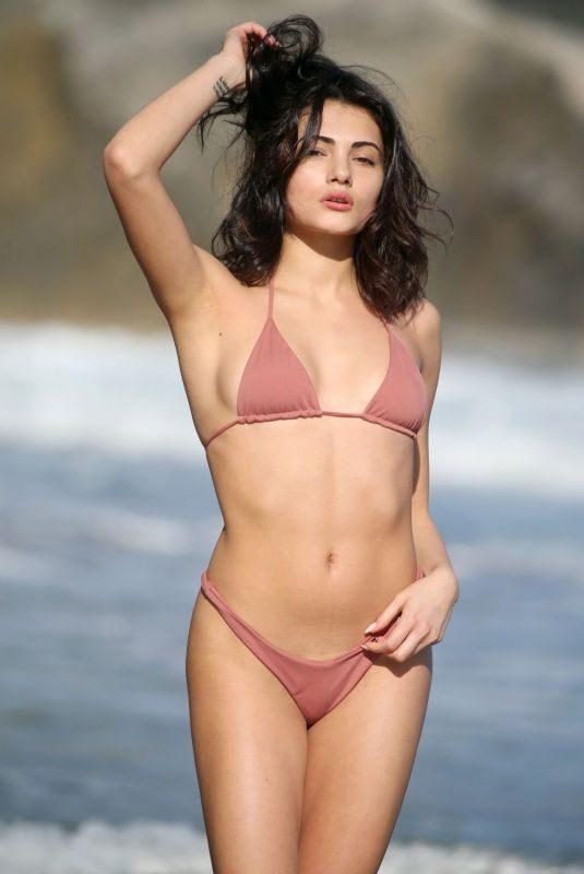 ALESSIA VENEZIANO in Bikini at a Beach in Italy 03/18/2019