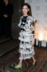 ALEXA CHUNG at National Portrait Gallery Gala in London 03/12/2019