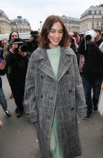 ALEXA CHUNG at Stella McCartney Fashion Show at PFW in Paris 03/04/2019